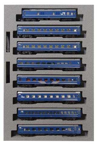 KATO カトー 24系25形 寝台特急「はやぶさ」基本(8両)  10-1406【Nゲージ】【鉄道模型】【車両】【セット品】