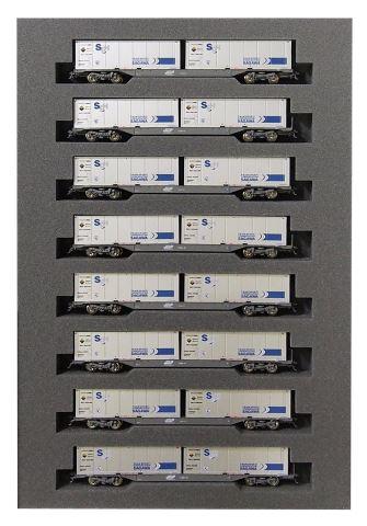 KATO カトー M250系スーパーレールカーゴ(新デザインコンテナ) 増結B(8両)  10-1420【Nゲージ】【鉄道模型】【車両】【セット品】