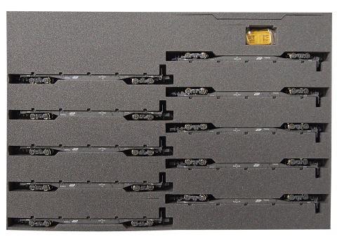 KATO カトーコキ106+107コンテナ無積載(10両)  10-1432    【Nゲージ】【鉄道模型】【車両】【セット品】