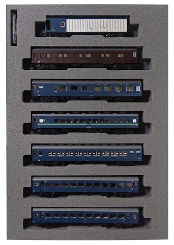 KATO カトー10系夜行急行「だいせん」基本(7両)  10-1449    【Nゲージ】【鉄道模型】【車両】【セット品】