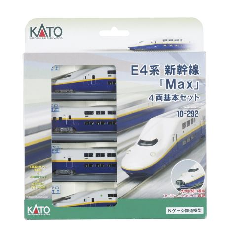 KATO カトー E4系新幹線 基本(4両)  10-292【Nゲージ】【鉄道模型】【車両】【セット品】