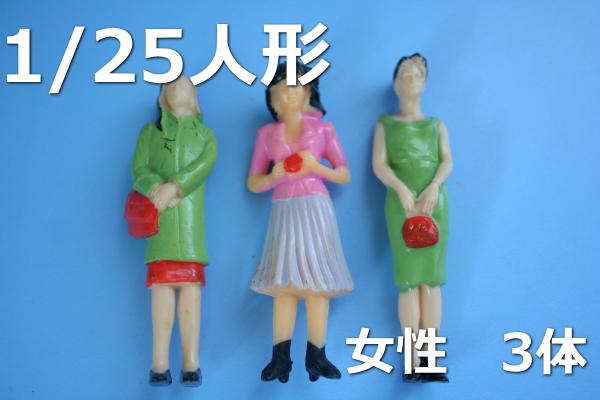 1/25人形建築模型