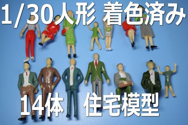 1/30 人形 ミニチュア 1番ゲージ