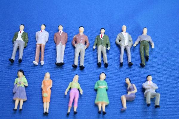 建築模型用人形