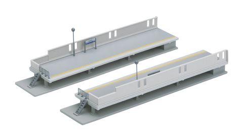 KATO カトー 近郊形対向式ホームエンドB(LR各1入) 23-117  【Nゲージ】【鉄道模型】【ストラクチャー】