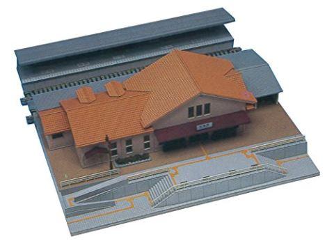 KATO カトー 複線プレート地上駅舎 23-126  【Nゲージ】【鉄道模型】【ストラクチャー】