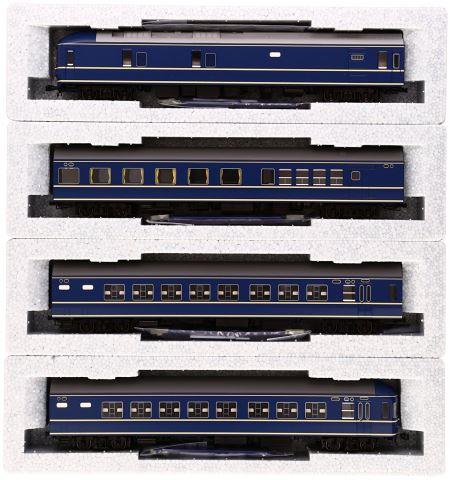 KATO カトー 20系特急形寝台客車基本 (4両)  3-504【HOゲージ】【鉄道模型】【車両】