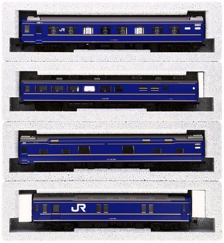KATO カトー 24系寝台特急「北斗星」基本(4両)  3-515【HOゲージ】【鉄道模型】【車両】