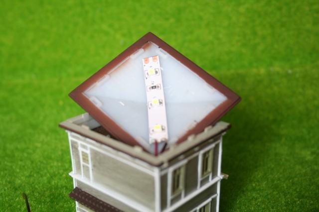 ジオコレLED模型