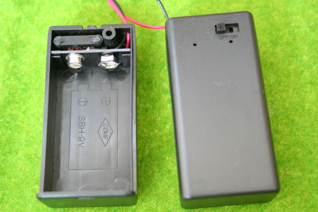 電池ボックス自作