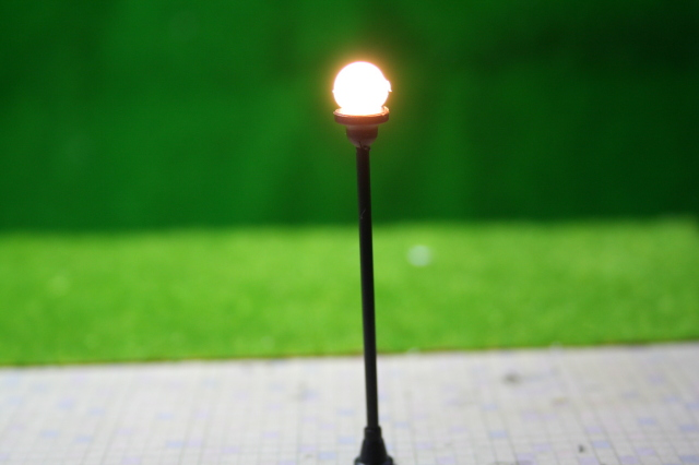 HOゲージ16番 模型街灯