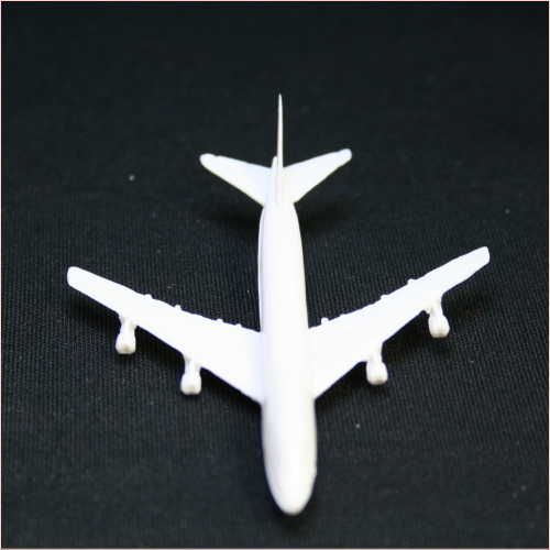 飛行機のジオラマ