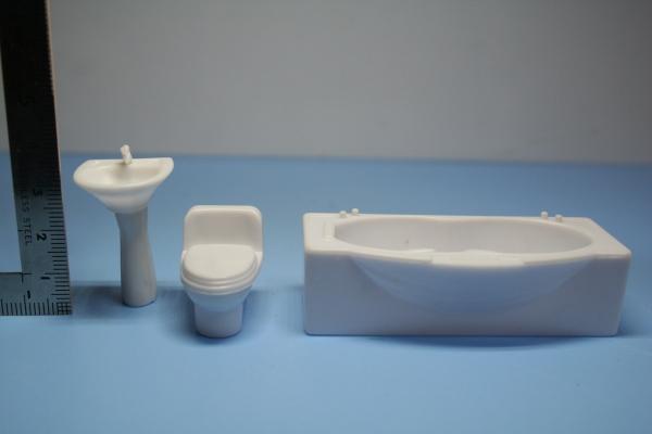 1/25 家具模型 白模型 住宅模型
