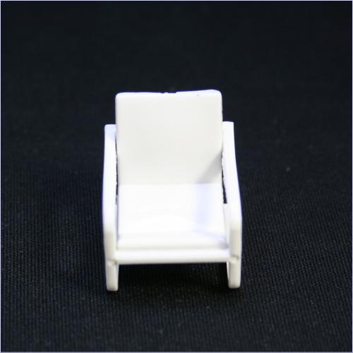 白模型椅子