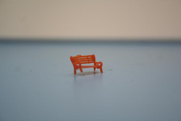 Nゲージ公園用ベンチ