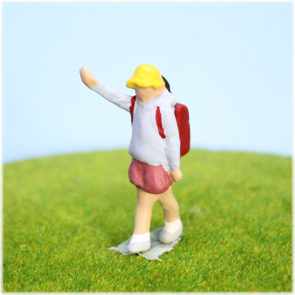 小学生人形