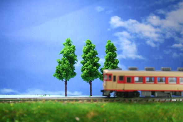 樹木模型 鉄道模型 住宅模型