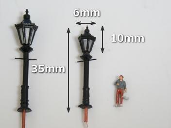 Nゲージ 街路灯 LED