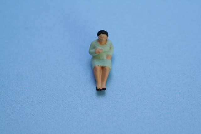 レイアウト人形