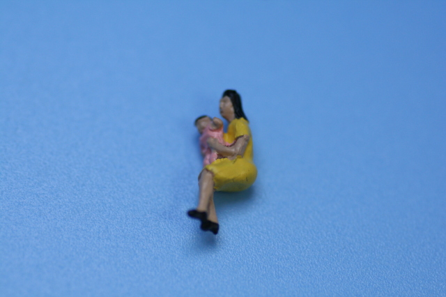 ジオラマ人形