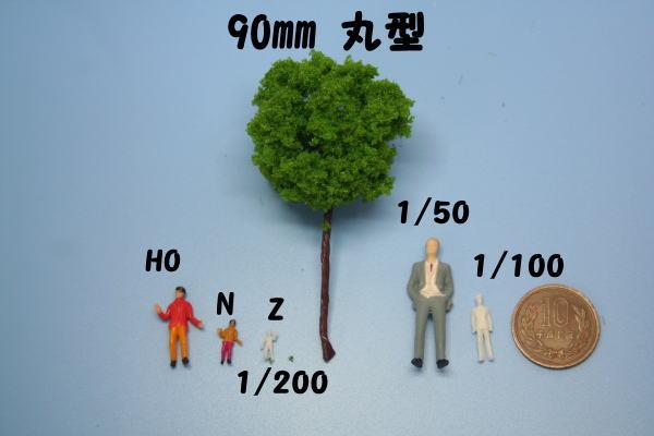 樹木模型 人形