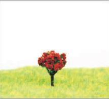 ミニチュア樹木添景