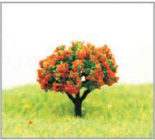 景観模型樹木