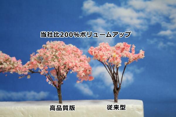 サクラ模型樹木