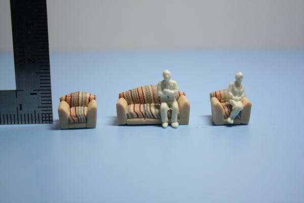 家具の模型1/100