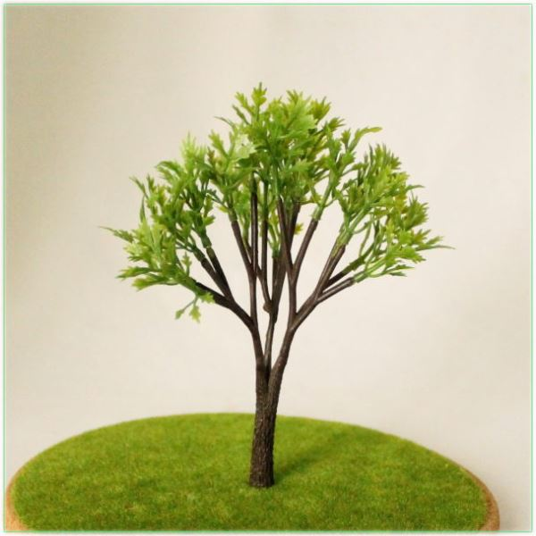 建築模型の木