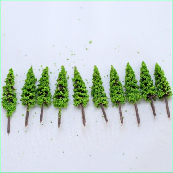模型の樹木