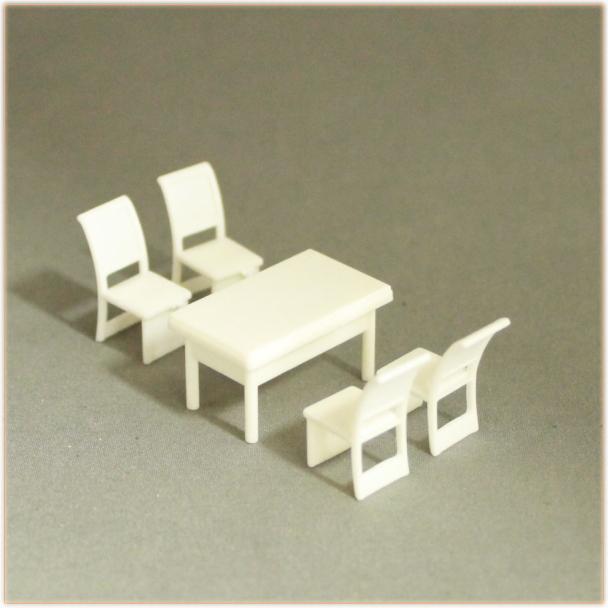 模型テーブルセット