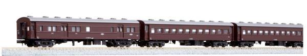 KATO カトー 旧形客車 4両セット(茶)  10-034【Nゲージ】【鉄道模型】【車両】【セット品】