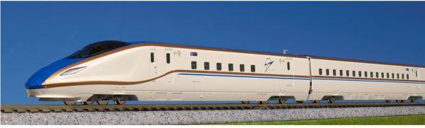 KATO カトー E7系北陸新幹線「かがやき」 基本セット(3両)  10-1264【Nゲージ】【鉄道模型】【車両】【セット品】