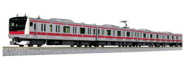 KATO カトー E233系5000番台 京葉線(貫通編成) 6両基本セット 10-1568【Nゲージ】【鉄道模型】【車両】【セット品】