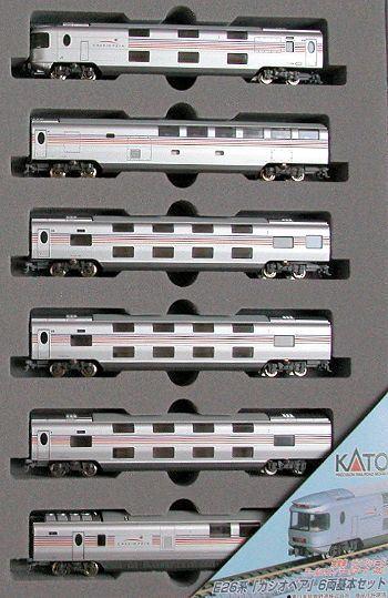 KATO カトー JR東日本 E26系特急形寝台客車「カシオペア」6両基本セット 10-399【Nゲージ】【鉄道模型】【車両】【セット品】