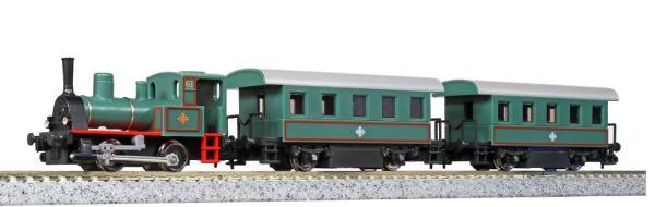 KATO カトー チビロコセット たのしい街のSL列車 ※動力ユニット改良品 14-503-1【Nゲージ】【鉄道模型】【車両】【セット品】