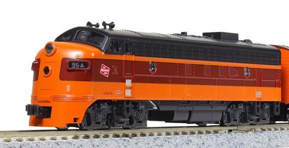 KATO カトー FP7A ミルウォーキー・ロード #95C 17711-3【Nゲージ】【鉄道模型】【車両】