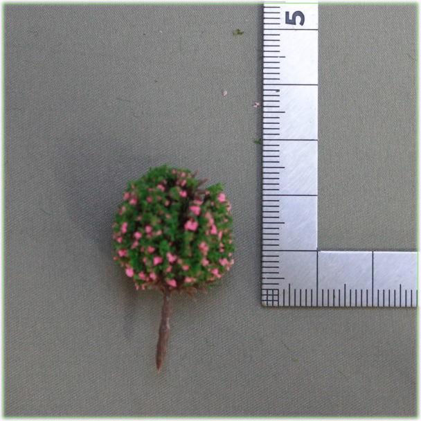 つつじ植栽模型