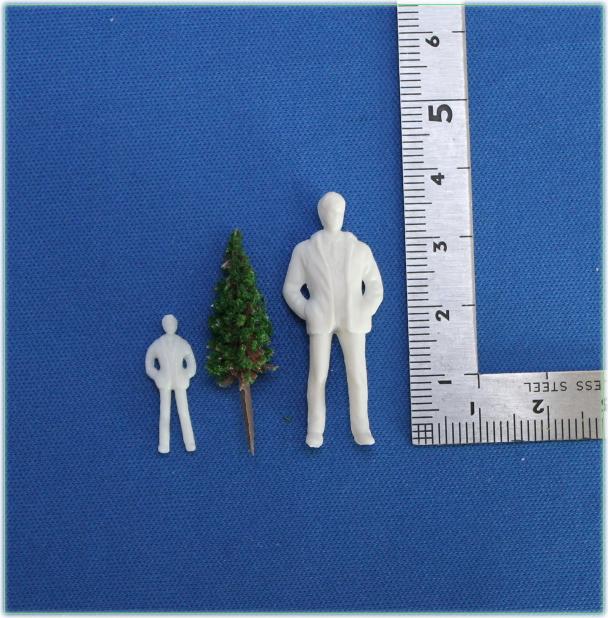 コニファー庭園樹木模型