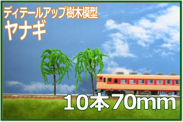 ヤナギ樹木模型