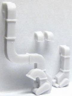 1/150 情景アクセサリー 排気ダクト【YSK】【鉄道模型】【カラーレジン製】【Nゲージ】【メール便可】