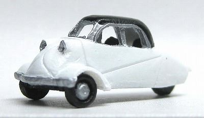 1/150 情景アクセサリー 3輪乗用車 KR200【YSK】【鉄道模型】【カラーレジン製】【Nゲージ】【メール便可】