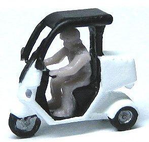 1/150 情景アクセサリー ピザバイク【YSK】【鉄道模型】【カラーレジン製】【Nゲージ】【メール便可】