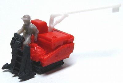 1/150 情景アクセサリー コンバイン【YSK】【鉄道模型】【カラーレジン製】【Nゲージ】【メール便可】