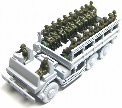 1/144AFV 改造キット 自衛隊乗車員【YSK】【鉄道模型】【カラーレジン製】【情景模型】【Nゲージ】【メール便可】