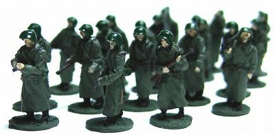 1/144AFV 人形キット 行軍ドイツ兵1【YSK】【鉄道模型】【カラーレジン製】【情景模型】【Nゲージ】