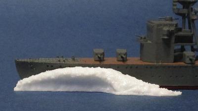 船首波Aホワイト