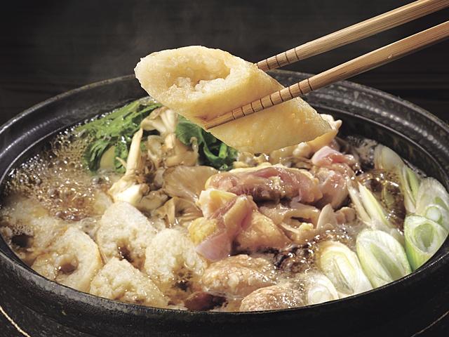 全ての素材にこだわった本物の味わい。比内地鶏きりたんぽ鍋セット