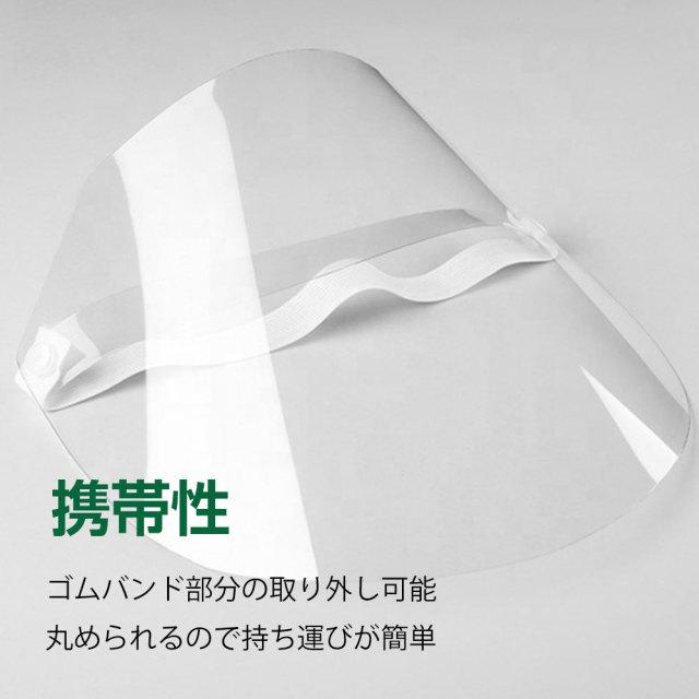 シールド 飛沫 防止 フェイスガード コロナウィルス 感染 防止型